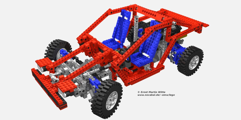 lego legotechnic with povray lego technic car 8865. Black Bedroom Furniture Sets. Home Design Ideas